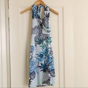 Title Nine Floral Print Athletic Halter Dress